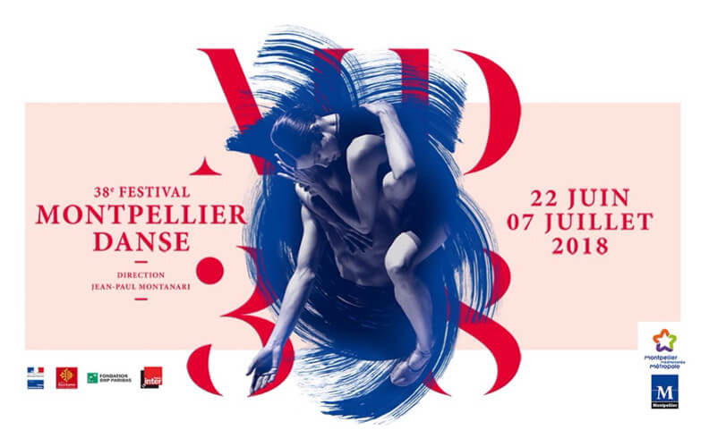 Poster of the 38th Montpellier Danse