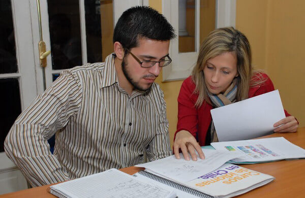 One-on-one Spanish classes,Tandem Santiago Chile