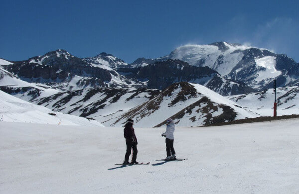 Spanish courses and Ski,Tandem Santiago Chile