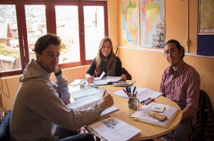 Spanish Intensive Course,Acupari Cusco