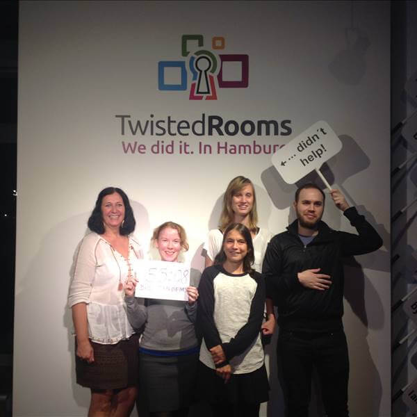 Twisted Rooms