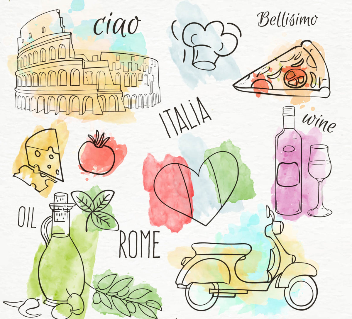 Italian is the fourth most studied language in the world