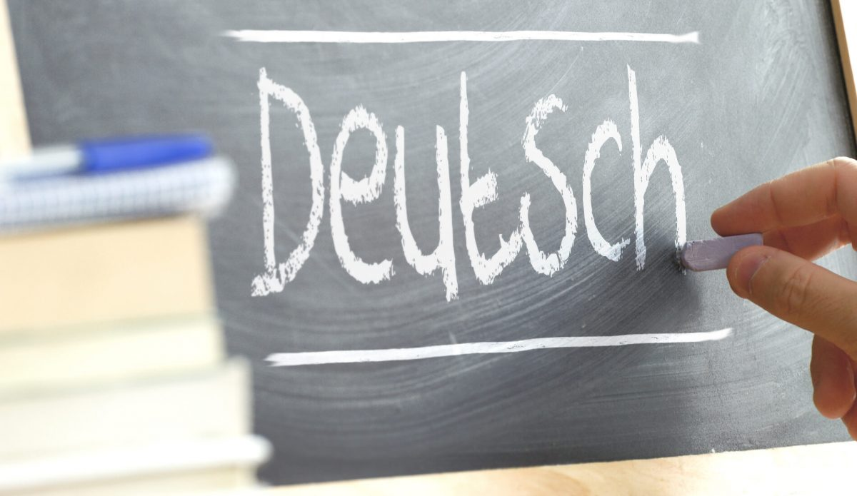 Learn German, main page about German language